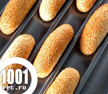 Рецепт булочок для хот-догів