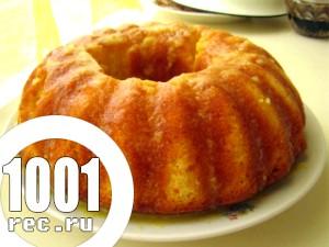 Рецепт кексу з горіхами
