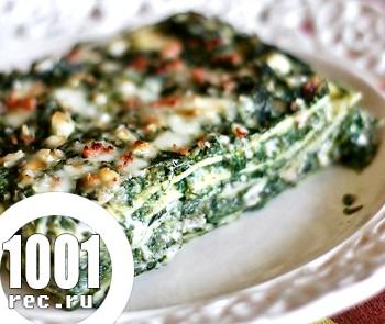 Рецепт лазаньї з кропиви