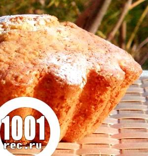 Рецепт смачного бісквітного кексу