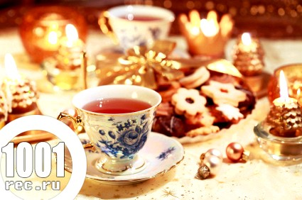 Рецепти чаю для новорічного столу