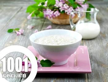 Рисово-пшоняна каша на молоці
