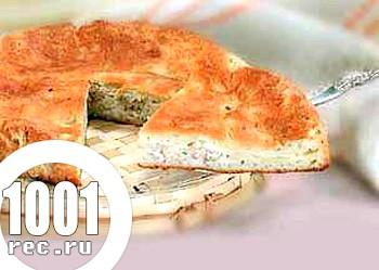 Рибний пиріг в аерогрилі