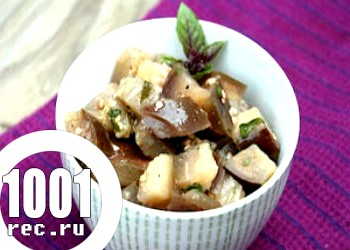 Салат баклажановий на зиму