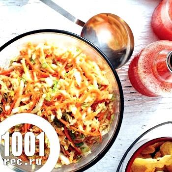Салат з капусти по-корейськи на зиму