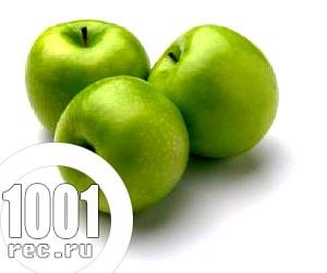 Салат з лука і яблук «Буратіно».