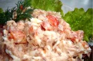 Салат з відвареного путасу «Гурман».