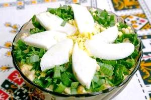 Салат з відварених грибів «Гармонія».
