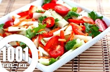 Салат з овочів по-тайськи