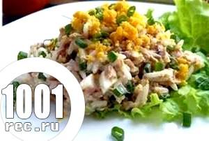 Салат з рибного філе Настрій