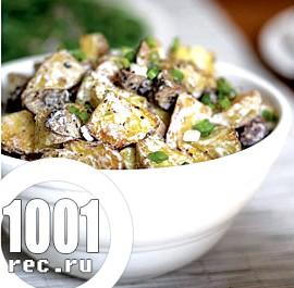 Салат з шампіньйонів «Мінський».