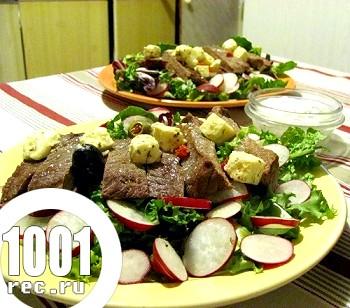 Салат з шашлику