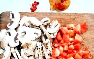 Фото - рецепт салату з свіжих грибів
