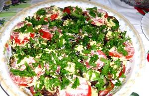 Салат до шашлику в домашніх умовах
