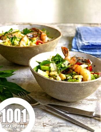 Салат з креветками і пекінською капустою: 8 рецептів