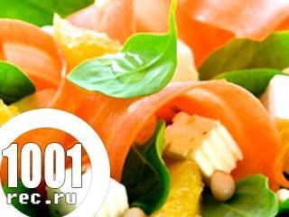 Салат з морквою і шинкою