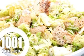 Салат з пекінською капустою і горішками