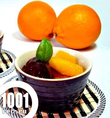 Шоколадно-апельсинове крем-брюле