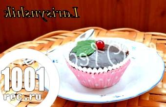 Шоколадні кекси Crazy Cakes: рецепт з покроковим фото
