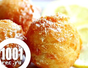 Солодощі до дня весни: іранські пончики