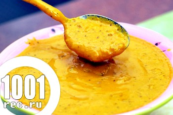 Сметанно-гірчичний соус до вареників