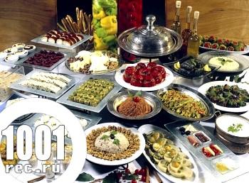 Складання меню в китайській кулінарії.