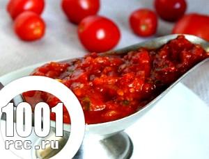 Соус з помідорів і горіхів до шашлику