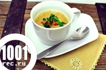Суп грибниця з опеньків