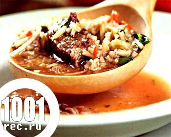 Суп харчо зі свинини