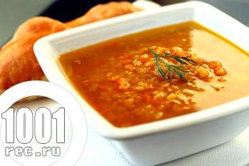 Суп з сочевиці в мультиварці