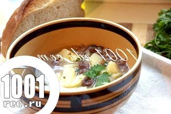 Суп з курячих сердечок з гречкою: рецепт з покроковим фото