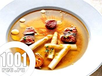 Суп зі спаржі