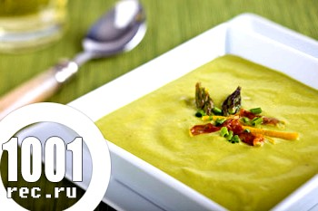 Суп-пюре зі спаржі