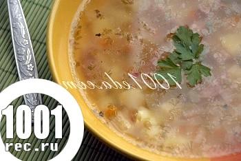 Суп з ковбасою: рецепт з покроковим фото