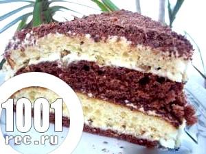 Фото - рецепт торта празький з фото