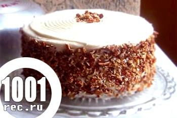 Торт з шоколаду зі згущеним молоком