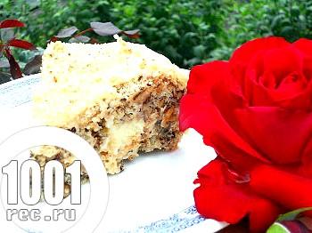 Торт Київський в мультиварці: рецепт з покроковим фото