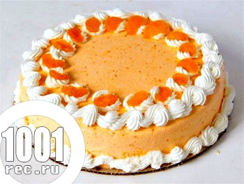 Торт Мандаринка для дітей