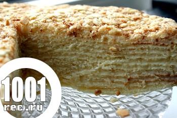 Торт Мокрий Наполеон