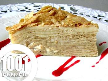 Торт Наполеон без яєць