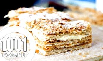 Торт Наполеон на маргарині