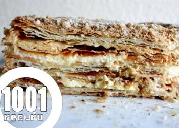 Торт Наполеон в мультиварці