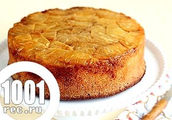 Торт з ананасними чіпсами