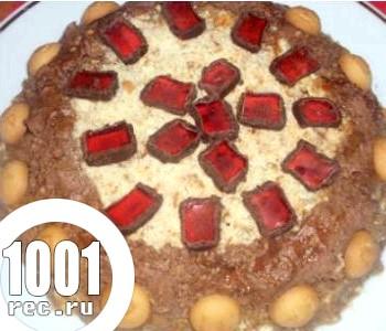 Тортик без випічки «швиденько»
