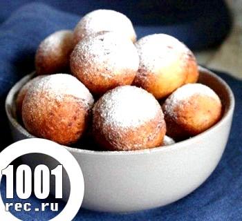 Сирні пончики Спортлото