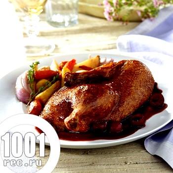 Фото - Рецепт качки з вишневим соусом
