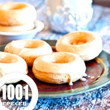 Ванільні пончики на соді