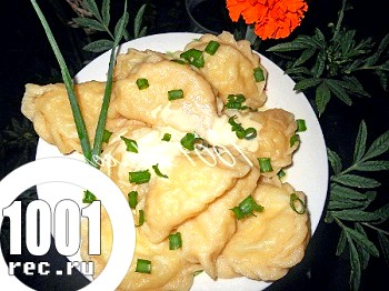 Вареники з капустою: рецепт з покроковим фото