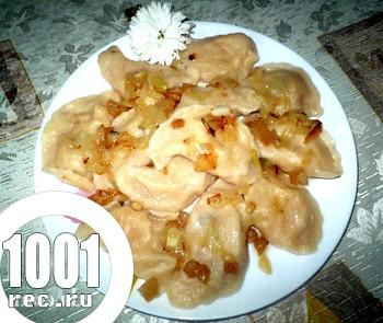 Фото - Рецепт вареників з квашеною капустою