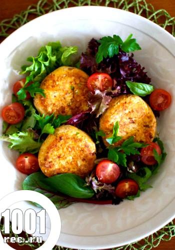 Вегетаріанські котлети з квасолі